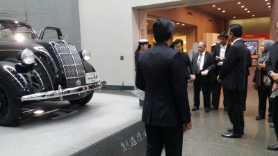 Kunjungan delegasi DIY ke Museum Toyota