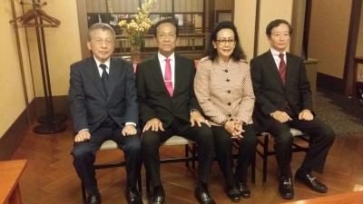 Pertemuan dengan civitas akademika Universitas Perfektural Aichi (APU)