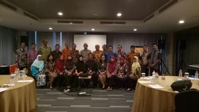 Rapat Koordinasi Pelaksanaan Penanaman Modal di Hotel Harper